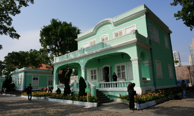 Taipa Houses Museum: this consists of five beautiful jade-green colonial houses built in the 1920s, each featuring a different exhibition theme.